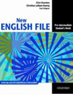 New English File Pre-intermediate english  course